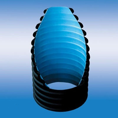 Double Wall Corrugated Dwc HDPE Pipe
