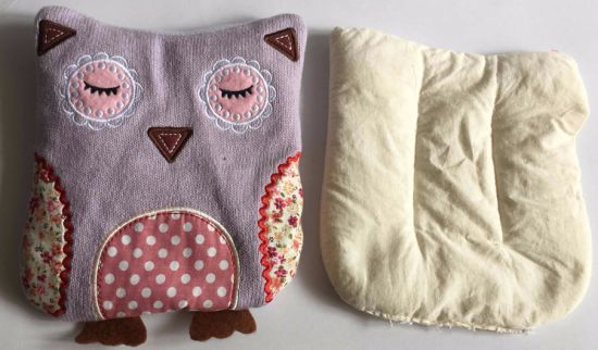Owl Cover with Microwave Heating Pad pictures & photos