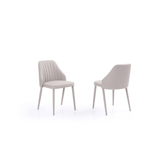 Hotsale Simple Style China Dining Chair With Stitching Furniture