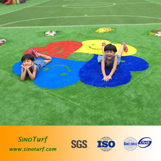 Kids Playground Synthetic Turf, Baby Playground Fake Grass, Baby Playground Turf, Kids Playground Grass pictures & photos