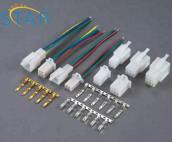 4.0/5.0mm Pitch Bar Connector 2.8 Series Terminal Electronic Wire Harness