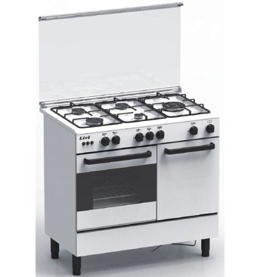 Hot Selling! Commercial Freestanding Gas Oven with 6 Burners
