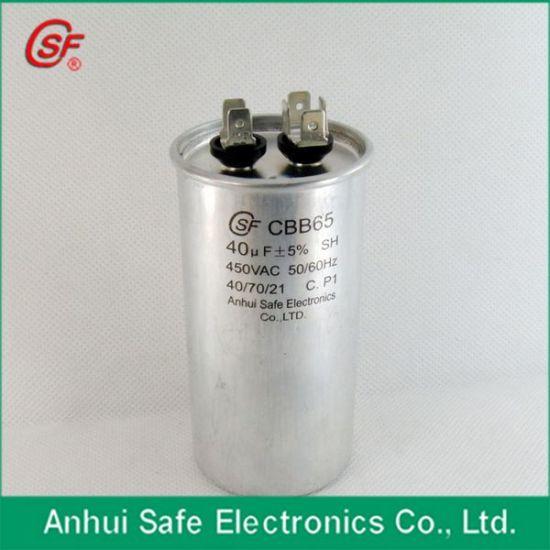 CBB65a-1 20UF 450VAC 50//60Hz Motor Run Start Air Compressor Capacitor