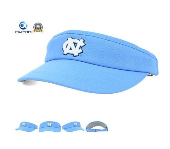eef5933a71e China New Light Blue Color Logo Embroidery Sun Sports Hats - China ...