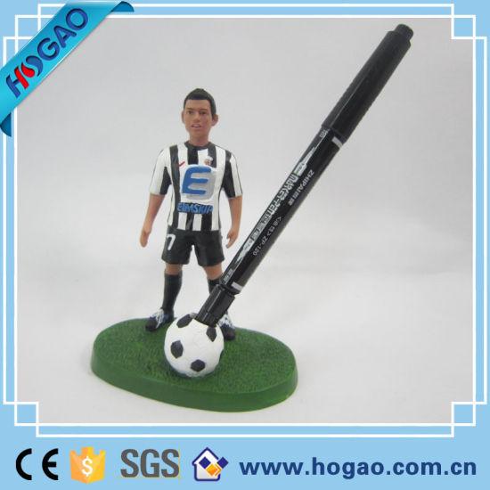 Polyresin Resin Soccer Custom Talking Bobble Head (Hogao001)