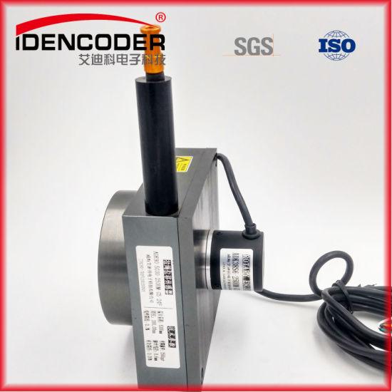 China Measuring Range 0-600mm Incremental Encoder Draw Wire Sensor ...