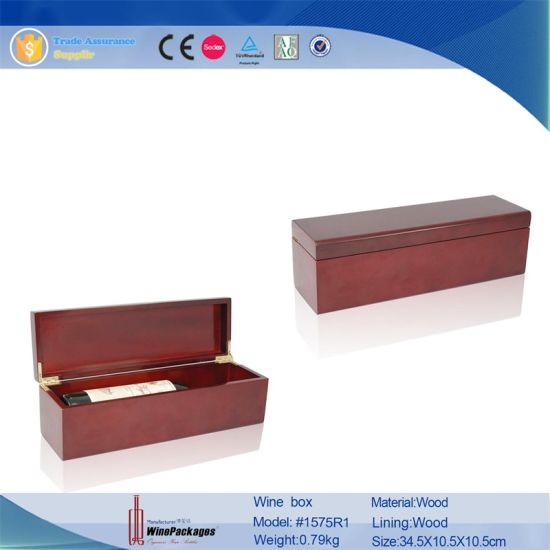 High Quality Customized Made-in-China Leather Wine Box Wholesale pictures & photos