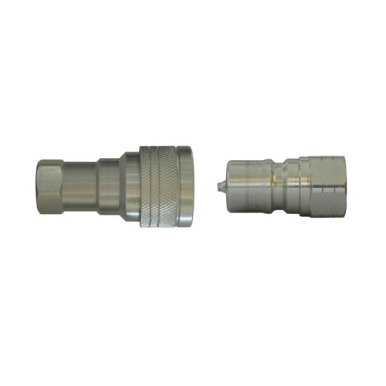 Double Shut-off Type Poppet Quick Coupler and Nipples
