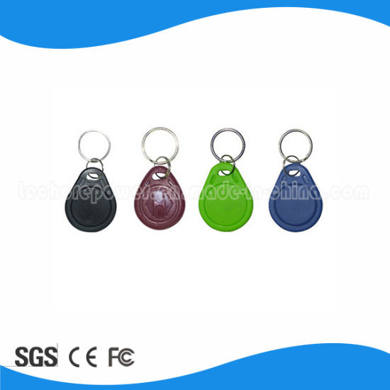 High Quality ABS 125kHz RFID Key Fobs with Different Color pictures & photos