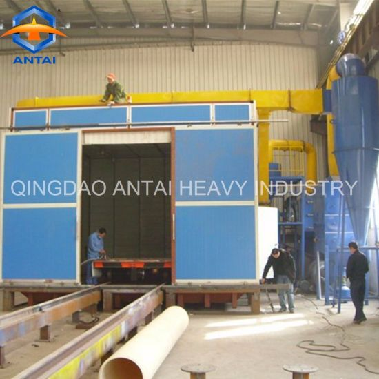 China Industrial Sand Blasting Cabinet/ Sand Blasting Room