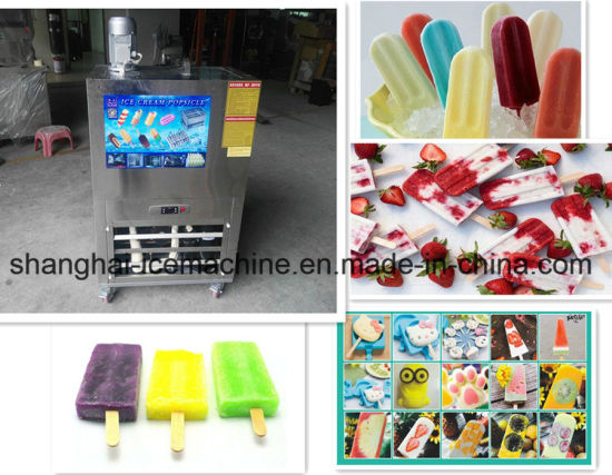Automatic Industrial Ice Lolly Ice Cream Making Machine Snack Machines pictures & photos