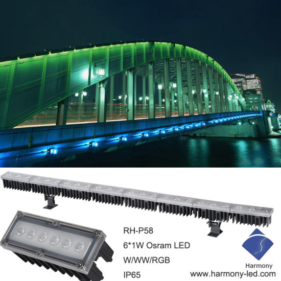 china led wall wash lights facade architectural outline module light