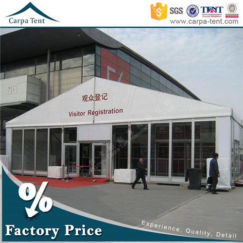 High Quality Unique Luxurious Glass Wall Exhibition Marquee Tent Wholesale