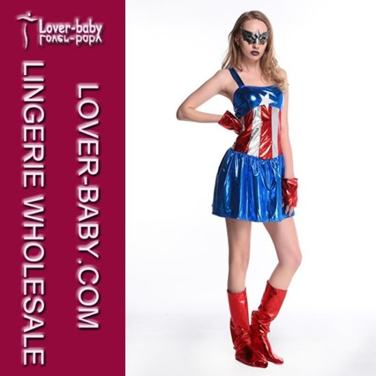 Halloween Superhero Party Costume Factory (L15341) pictures & photos