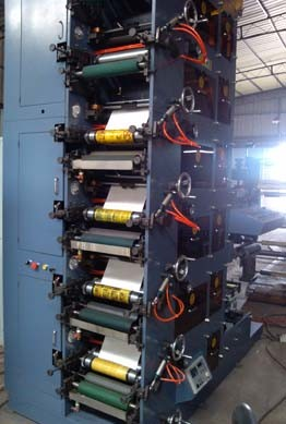 IR+UV Dryer Flexo Printing Machine pictures & photos