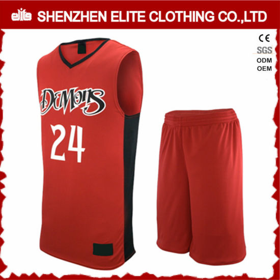 f4e0be1a83b Philippines Custom Red Basketball Jersey Uniform Design pictures & photos