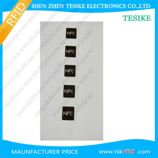 China Factory Price Mobile Phone 30*30mm Round NFC RFID Tag