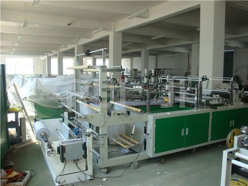 Automatic Plastic Suit Cover Bag Making Machine (PE, PP, BOPP)