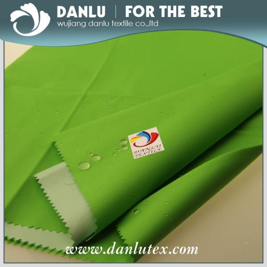 100% Linen Pongee Fabric for Down Coat and Winter Coat