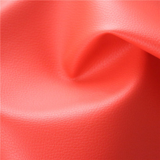 Anti-Abrasion Artificial Leather for Automobile Stocklot (418#) pictures & photos