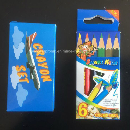 Promotional Kids Color Pencil Set in Colored Box