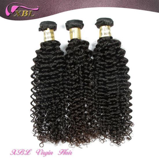 China Grade 8A Kinky Curly Brazilian Wholesale Human Hair