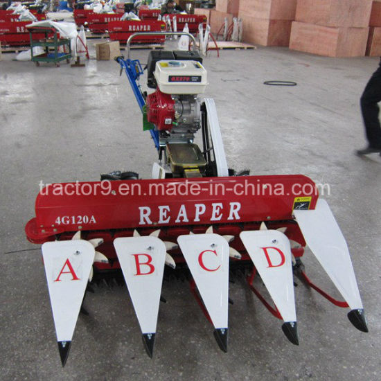 4G-120A Mini Harvester, Rice and Wheat Reaper, 120cm Cutting Width pictures & photos