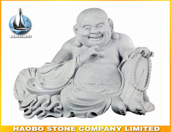 Laughing Buddha Statue Stone pictures & photos