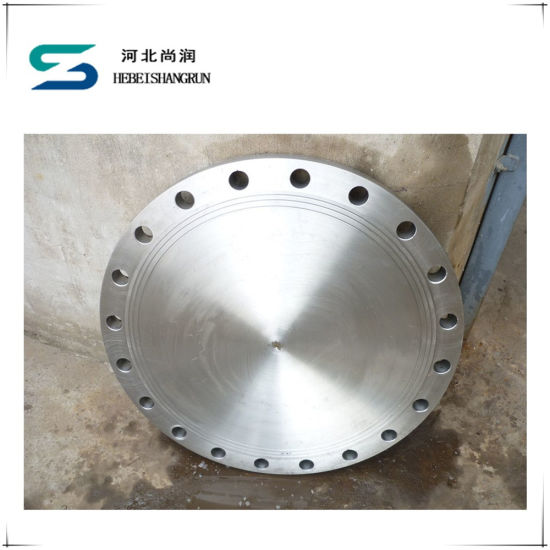 ANSI Stainless Steel High Hub Blind Flanges for Pipe Fittings pictures & photos