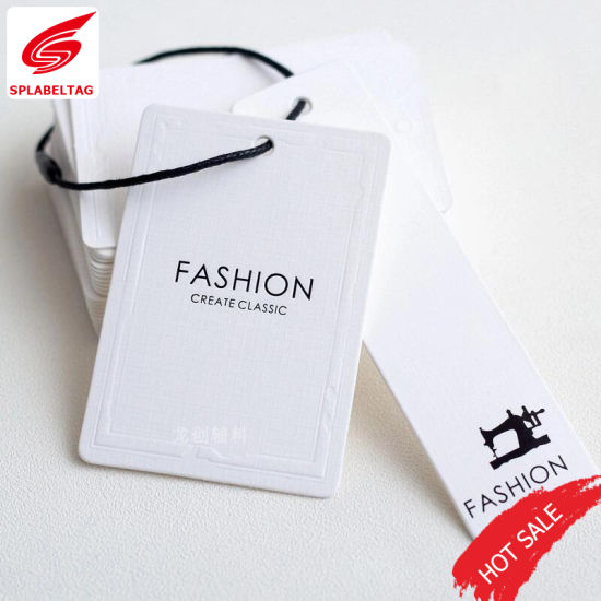 Top Design Best Price Art Paper Hang Tags For Clothing