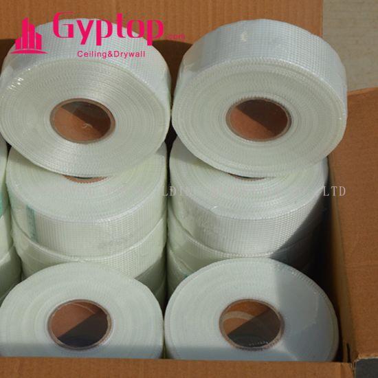 Self Adhesive Construction Drywall Joint Fibreglass Mesh Fibre Glass Tape