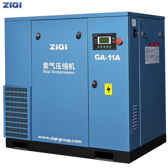 Energy-Saving 11kw 0.8MPa Compact Mounted Air Compressor for Electrieity pictures & photos