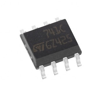 Operational Amplifier IC Single General Purp 741c Ua741cdt Sop-8 pictures & photos