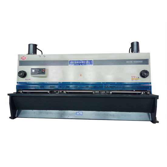 Ahyw Anhui Yawei CNC Hydraulic Guillotine Shearing Cutting Machine