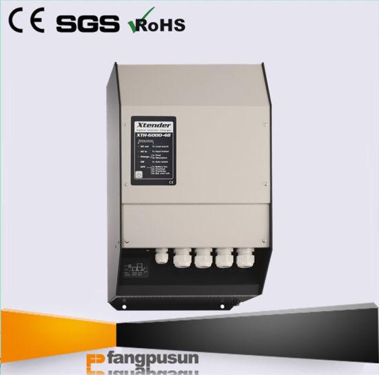 Lithium Battery Acid Battery on/ off Grid Hybrid Power Inverter Single Phase Three-Phase Xth 5000-24 5kw 15kw 45kw