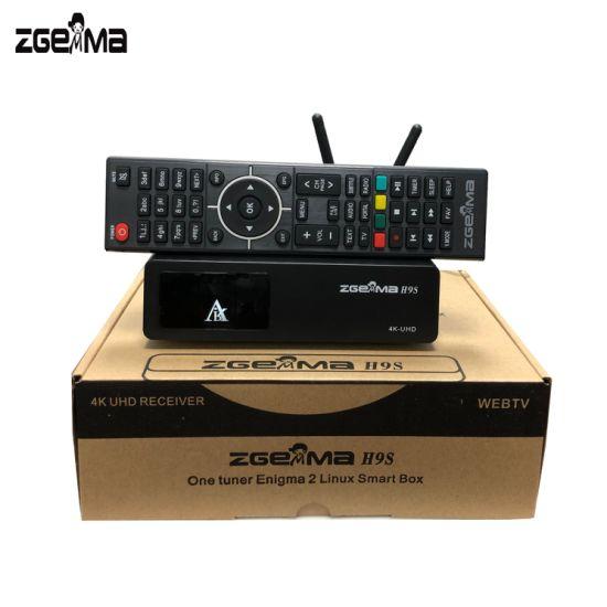 Zgemma H9s with WiFi DVB-S2X 4K UHD Satellite Receiver
