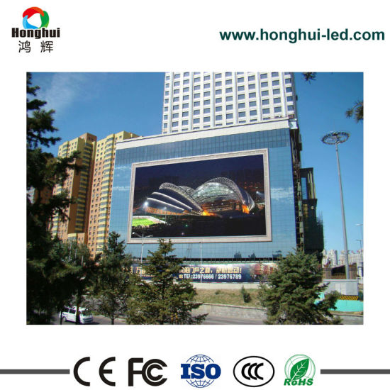 P6 Outdoor Fixed LED Billboard for Digital Display Sign