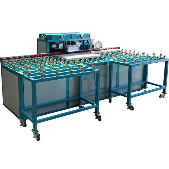 2020 New X02 Glass Edge Grinding Machine, Horizontal Glass Beveling Machine, Mirror Glass Polishing Machine, Glass Machinery for Grinding and Polishing with Ce