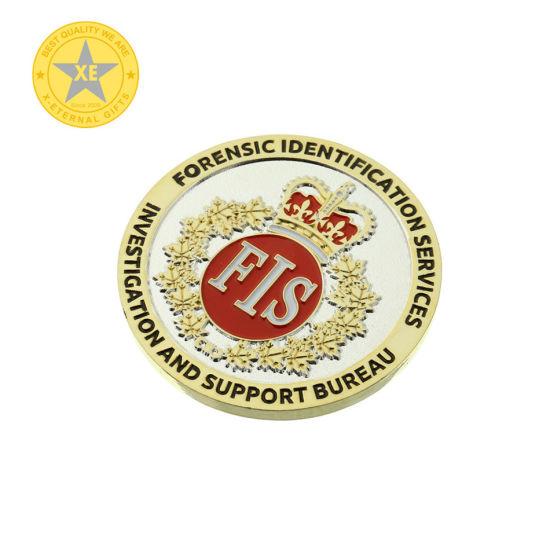 Soft Enamel Custom Us Police Office Souvenir Coin