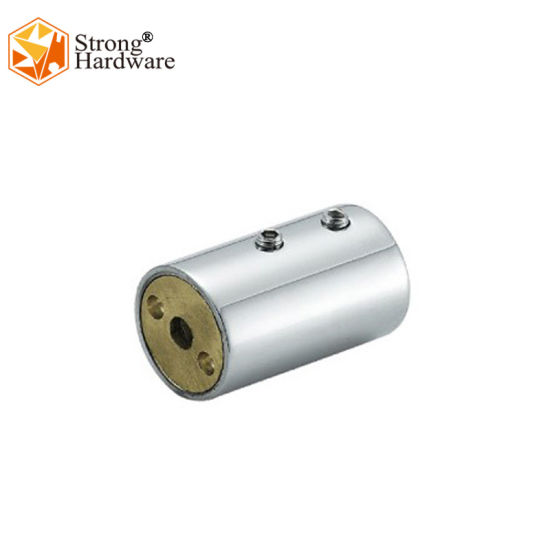 Hot Sale SS304/Brass Bathroom Glass Mirror and Satin Pipe Connector