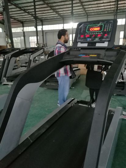 New Design Cardio Machine Treadmill / Gym Equipment Commercial Treadmill TZ-8000 pictures & photos