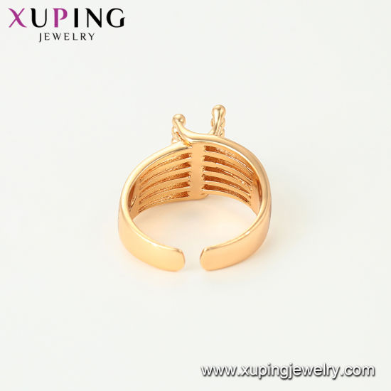 12963 2016 Spring Xuping Fashion Elegant 18K Gold-Plated Women Ring pictures & photos