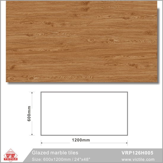 Ceramic Building Material Graceful Tile for Floor and Wall (VRP126H002, 600X1200mm) pictures & photos