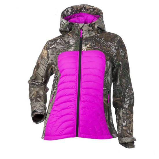 Custom Insulated Hunting Jacket Purple with Factory Price