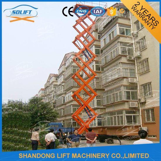 Hydraulic Scissor Construction Lift for Sale