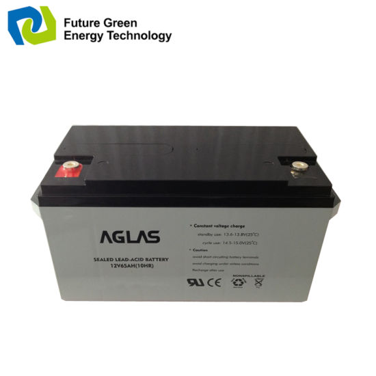 12V 38ah Deep Cycle Lead Acid Rechargeable Solar Power Battery pictures & photos