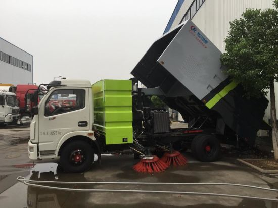 Chinese Supliers Good Quality City Fant Sweeping Truck pictures & photos