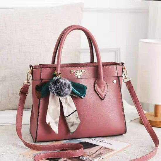 PU Material Fashionable Latest Design Ladies Bags