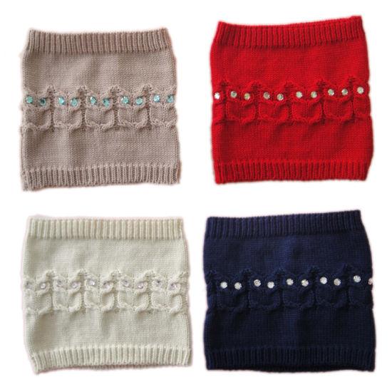China Children Winter Warm Fashion Knitting Cable Knit Owl Glove Hat