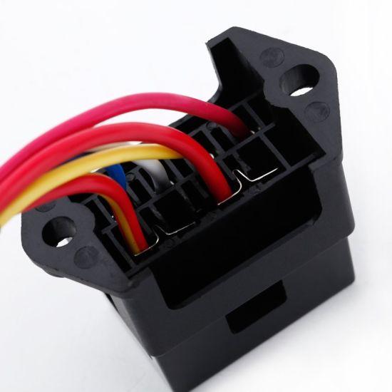 fuse box adapter 4 way dc32v circuit car trailer auto blade fuse box block holder  car trailer auto blade fuse box block